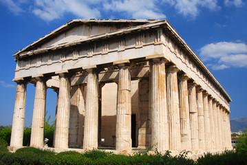 Temple of (Hephaestus) Hephaistos, Athen in Greece