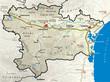Carte du département de l'Aude 11
