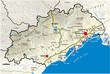 Carte du département de l'Hérault 34