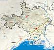 Carte du département deu Gard 30