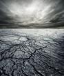 Storm in desert - 26838940