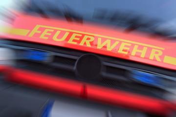 Rettungseinsatz für die Feuerwehr