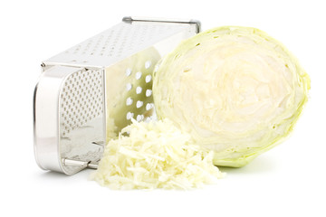 Grater and cabbage
