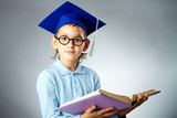 Cute student