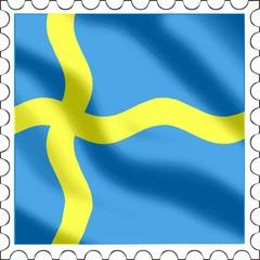Briefmarke Schweden