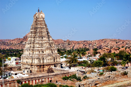 Hampi, Virupaksha Temple - India