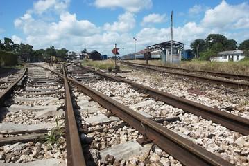 vias de tren de santa clara