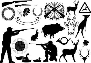 Jagd symbole 2