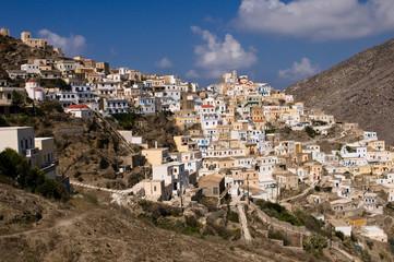 Das Dorf Olimbus auf Karpathos