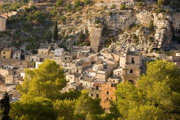 Panorama Scicli (Quartiere di San Bartolomeo)