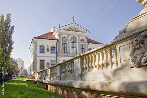 Museum of Frederick Chopin. Baroque palace in Warsaw. t-shirt
