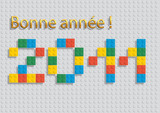 2011_Voeux Lego poster