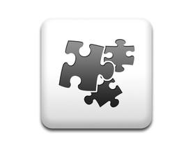 Boton cuadrado blanco simbolo plugin