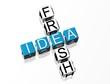 Fresh Idea Crossword