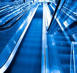 movement of business escalator