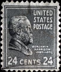 President Bengamin Harrison