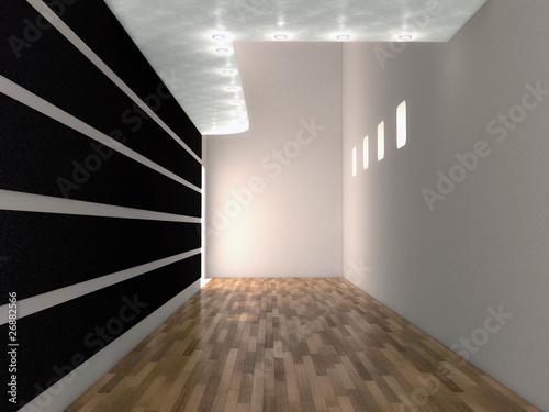 3d corridoio interno vuoto da arredare immagini e for Arredare 3d