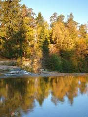 Keila-Joa Falls in autumn