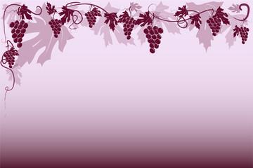 Sfondo uva rossa