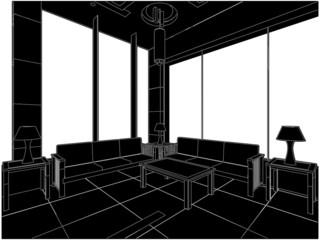 Modern Hall Vector 01