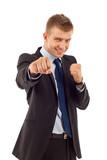 entrepreneur ready for fight poster