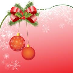 Dekorativer Weihnachtshintergrund