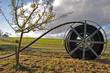 Leinwanddruck Bild - DSL-Anschluss im ländlichen Raum