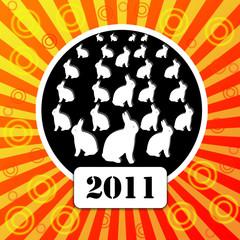 Rabbit - a symbol of 2011