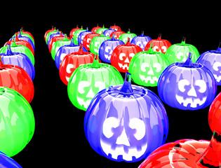 zucche halloween render