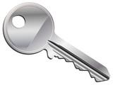 Sample isolated vector key