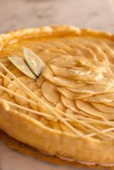 tarte aux pommes appétissante