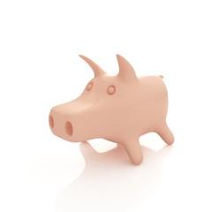 pink pig 3d
