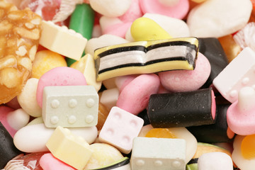Mixture of sweets