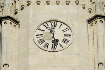 Clock tower in Cluj Napoca, Romania