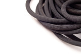 Rock Climbing Black Rope with Custom Space