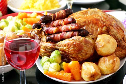 Скачать Широкоформатные картинки с праздничной едой 1024x682 px.