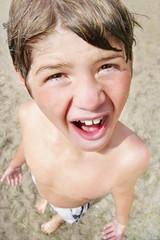 Closeup Of A Child's Face