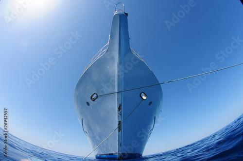 Leinwanddruck Bild schiff