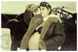 Pregnant pilot poster