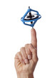 Finger with a spinning gyroscope - 26936373