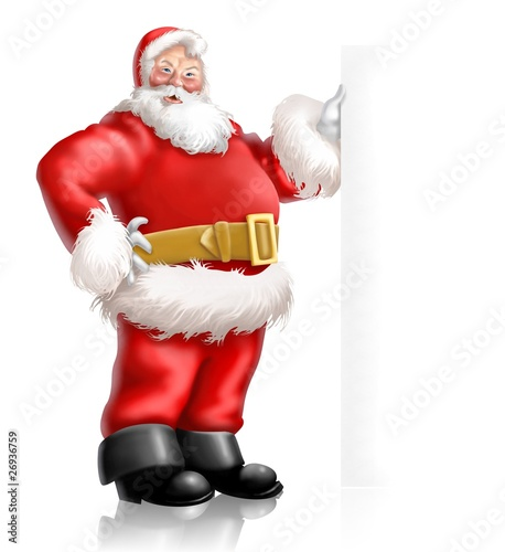 santa claus cartello