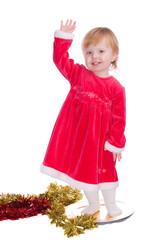 kleines Weihnachtsmädchen II