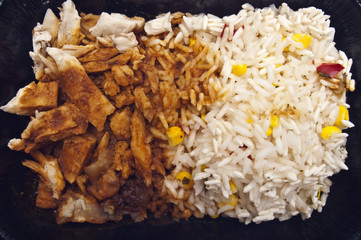 Organic BBQ Pork and Rice Meal