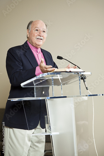 Minister at the Pulpit