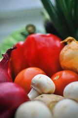 Gemüsehaufen