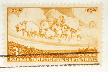 Kansas Territorial Centennial, circa 1954