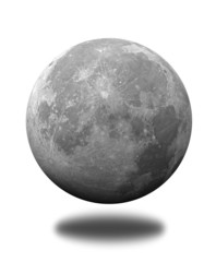 a part of the moon view from space  , 3d rendering