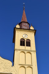 Yellow church, Novo mesto Slovenia