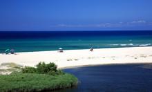 Paradise strand in het eiland Sardinië, Italië.