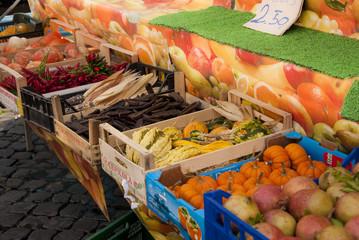 Il mercato della frutta a Roma